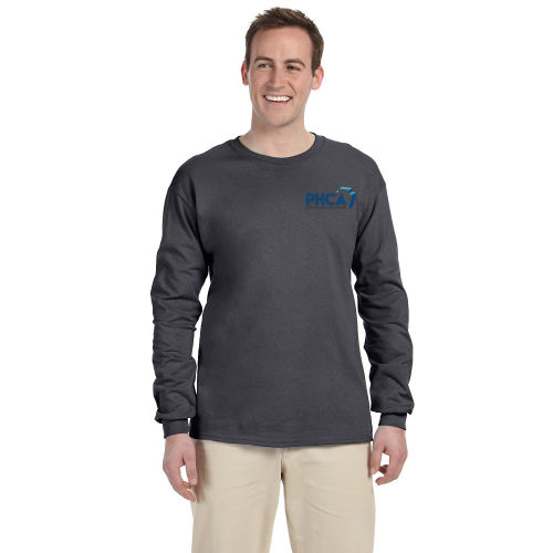 Adult Gildan® Ultra Cotton® 6 oz Long Sleeve T-Shirt