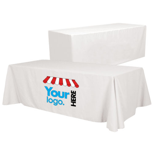 6'/8' Convertible Table Throw - Full Color Front Panel