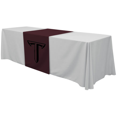 "28"" Standard Table Runner – Full Color Thermal Front"