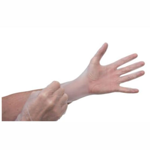 Vinyl Transparent Gloves - Medium