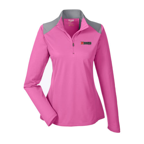 Team 365 Ladies' Command Colorblock Snag Protection Quarter-Zip