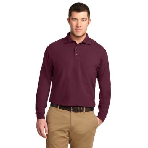LS Men's Silk Touch Polo