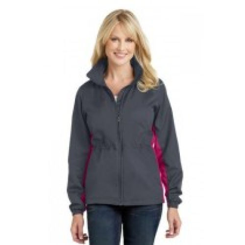 Ladies  Colorblock Wind Jackets