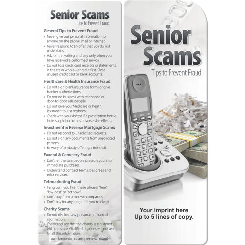 Bookmark - Senior Scams