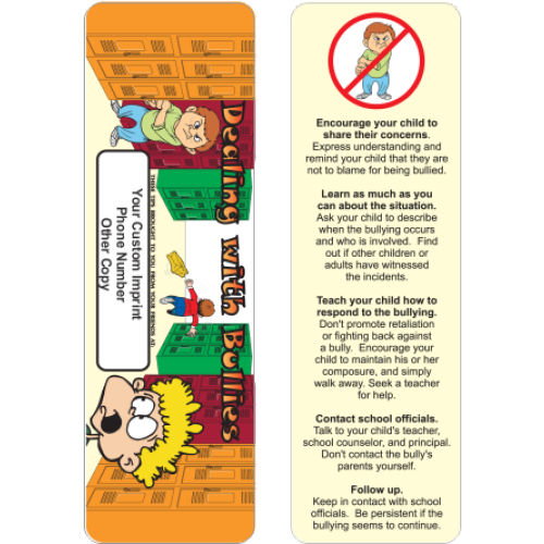Bookmark - Dealing with Bullies