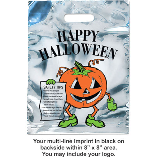 Halloween Bags - Mylar - 2 Designs