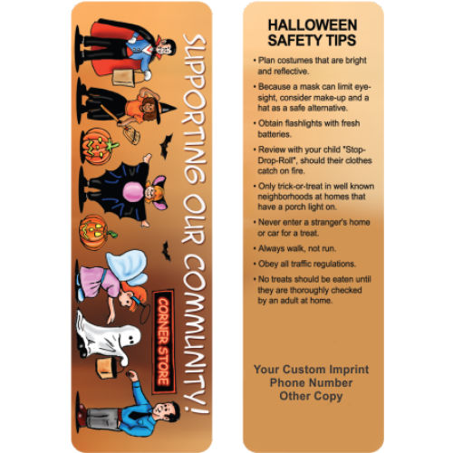 Bookmarks - Halloween Safety