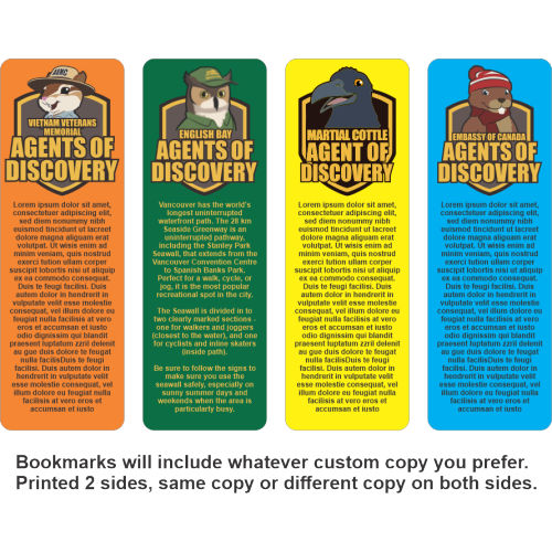 Bookmarks - Laminated