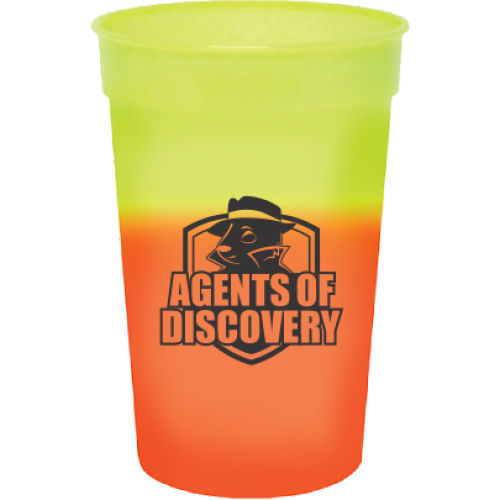 17 oz. Mood Stadium Cup - 1 Color Imprint