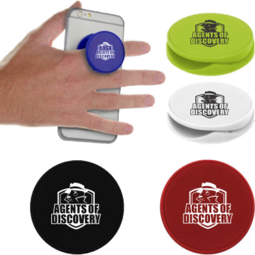 Disc Cell Phone Holder and Stand