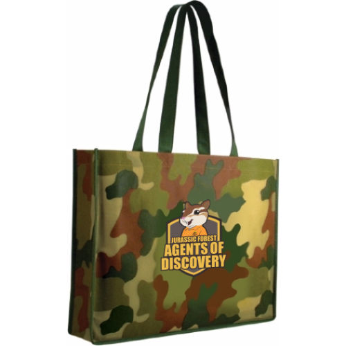 Tote Bags - Camo - Full Color Imprint