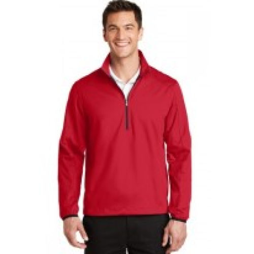 Half Zip Soft Shell Jacket