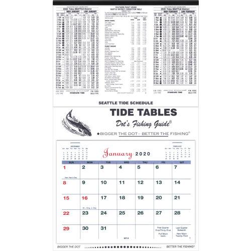 Tide Calendar 2021 Dot's Fishing Guides