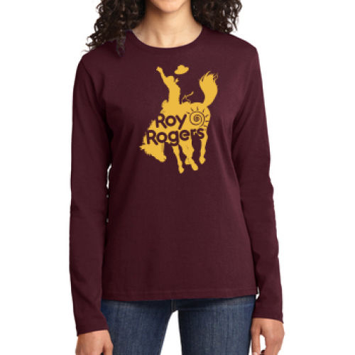 Bucking Bronco Women's Long Sleeve T-Shirt