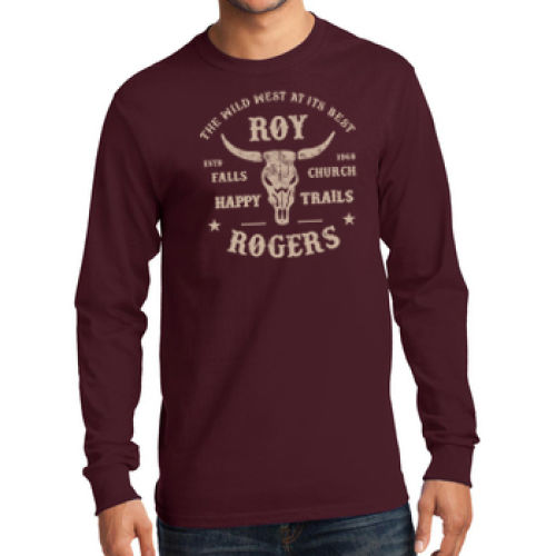 Longhorn Adult Long Sleeve T-Shirt