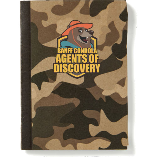 Camouflage Notebook
