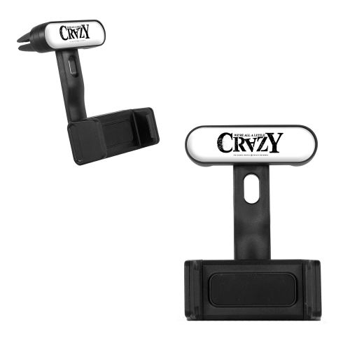 Mount-A-Bout Smartphone Holder - 'Crazy' Logo
