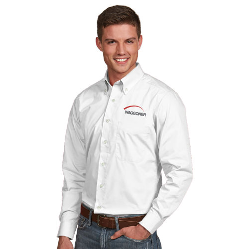 Men's Antigua Long Sleeve Button Down