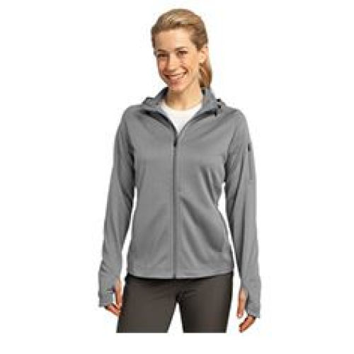Ladies Tech fleece Hooded Full Zip Jacket MIDL248