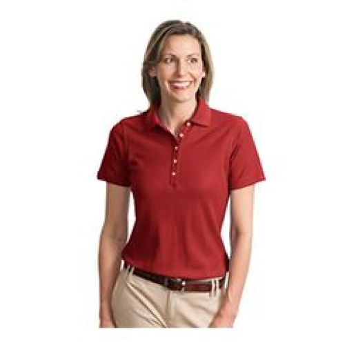 Ladies EZ Cotton Pique Polo MIDL800